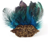 E.Kammeyer Accessories Feather Hair Clip Art Deco