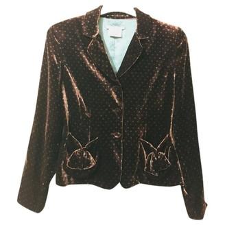 LK Bennett Brown Jacket for Women Vintage