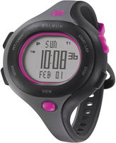 Soleus Womens Chicked 30-Lap Gray Strap Sport Watch