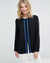 French Connection Thomas Block Blouse
