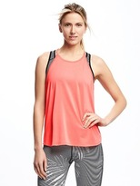 Old Navy Go-Dry High-Neck Swing Tank for Women