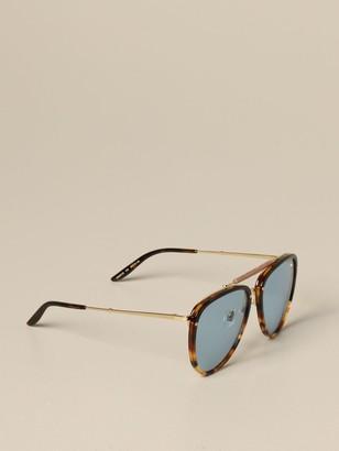 Gucci Acetate Glasses With Double Bridge