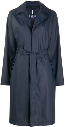 Rains Tie Waist Overcoat