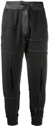Andrea Ya'aqov Elasticated Cashmere Track Pants