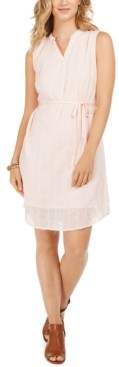 Style&Co. Style & Co Textured Cotton Dress, Created for Macy's