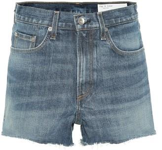 Rag & Bone High-rise denim shorts