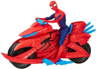 Hasbro Marvel Spider-Man Figure with Cycle