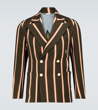 Gucci Exclusive to Mytheresa - regimental striped blazer