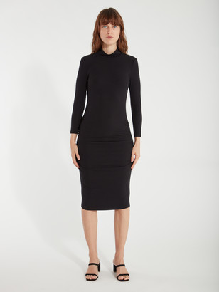 Sanctuary Essential 3/4 Sleeve Turtleneck Dress