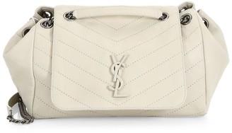 Saint Laurent Large Nolita Leather Shoulder Bag
