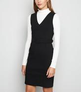 New Look V Neck Belted Dress