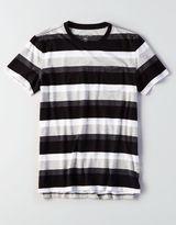 American Eagle Outfitters AE Flex Stripe Pocket T-Shirt