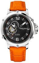 Giorgio Fedon Leather Strap Sport Utility III Automatic Watch, 45mm