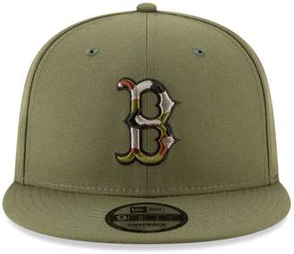 New Era Boston Red Sox MLB Camouflage-Trimmed 9FIFTY Baseball Cap