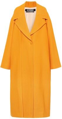 Jacquemus Le Manteau Quito wool-blend coat