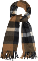 Max Mara Cashmere and wool fringed-scarf