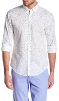 Bonobos Su Weight Flamingo Print Woven Standard Fit Shirt
