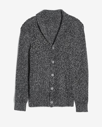 Express Marled Knit Cardigan