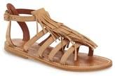 K Jacques St Tropez Women's K.jacques St. Tropez Fringe Flat Sandal