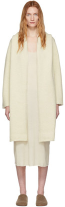 LAUREN MANOOGIAN White Capote Cardigan