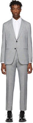 BOSS Grey Nolin Pirko Suit