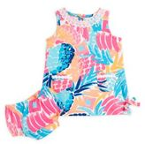 Lilly Pulitzer Baby's Goombay Smashed Lace-Accented Shift Dress & Bloomers Set