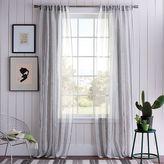 west elm Sullivan Woven Window Panel