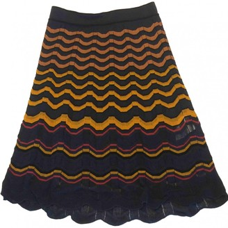 M Missoni Navy Cotton Skirt for Women