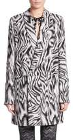 M Missoni Marbled Jacquard Double-Breasted Jacket