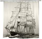Thomas Paul Ship Flax Shower Curtain