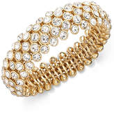 Charter Club Clear Beaded Stretch Bracelet