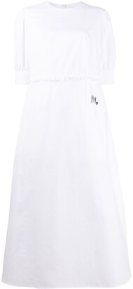 MM6 MAISON MARGIELA Short Sleeved Flared Dress