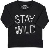 "Munster Stay Wild"" T-Shirt-BLACK"