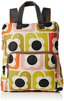 Orla Kiely Womens Love Birds Print Backpack Tote Shoulder Handbag,10 x 37 x 31 cm (W x H x L)