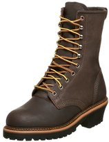"Golden Retriever Men's 9"" Steel Toe Work Boot"