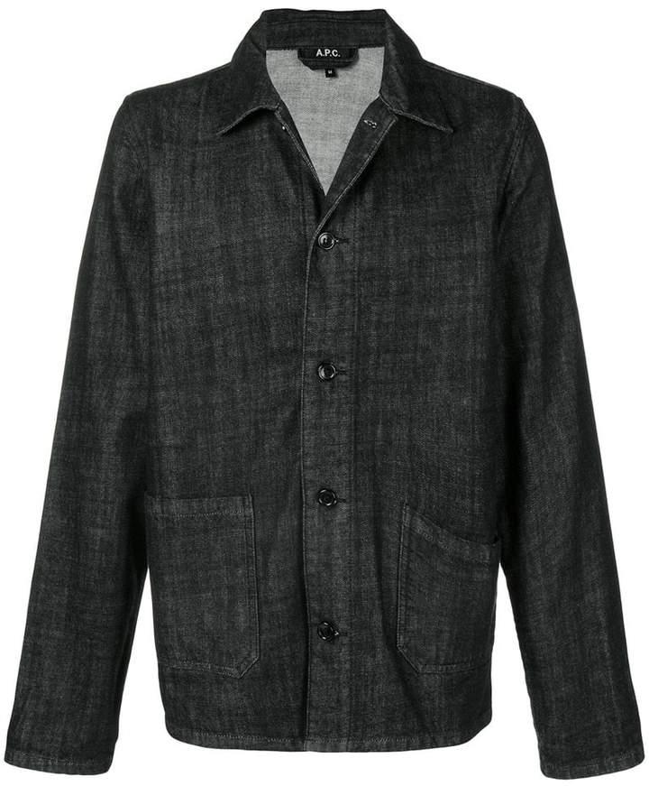 A.P.C. denim shirt jacket