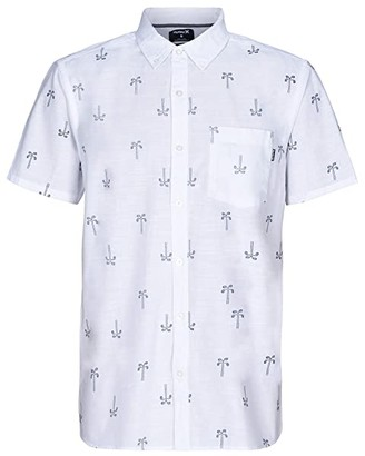 Hurley One and Only Paisley Palm (Sail) Men's Clothing