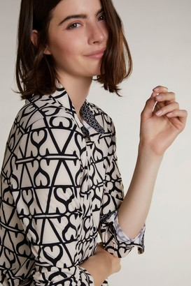 Oui Retro Heart Soft Shirt - 34
