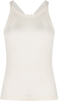 Pinko Racer Back Fitted Vest