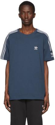 adidas Blue Lock Up T-Shirt
