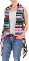 Wrangler Rock 47 Printed Sweater Vest (For Women)
