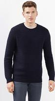 Esprit Cotton/wool blend jumper & zigzag pattern
