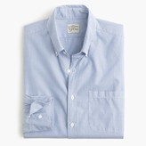 J.Crew Slim Secret Wash shirt in fine stripe