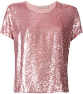 Amen sequined T-shirt - women - Polyester/Viscose - 40