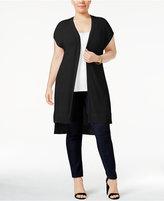 Love Scarlett Plus Size Lace-Up-Back Cardigan