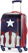 """Marvel Captain America 21"""" Hardside Spinner Suitcase by American Tourister"""