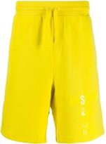 Moschino mid-length cotton shorts