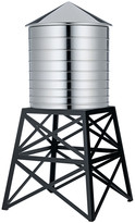 Alessi Water Tower Container - Black