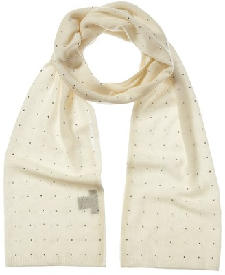 Forte Cashmere Crystal Oversized Cashmere Scarf
