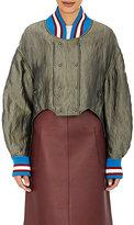 Esteban Cortazar Women's Satin Bomber Jacket